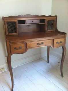 french writing desk $425 - Wilmette http://furnishly.com/catalog/product/view/id/4851/s/french-writing-desk/