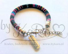 DIY aztec boho ibiza armband maken   Kijk bij de DIY Sieraden Projecten op onze website voor alle materialen   www.bykaro.nl voor kralen, bedels en meer...