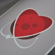 Space Love – Valentine's Day Card