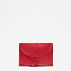 LEATHER ENVELOPE CLUTCH-Hand bags-Bags-WOMAN | ZARA United States