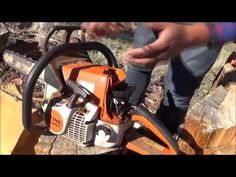 Getting a chainsaw running again after its been sitting for years Garden Tool Shed, Lawn And Garden, Chainsaw Repair, Engine Repair, Tool Sheds, Small Engine, Home Gadgets, Lineman, Garage Workshop