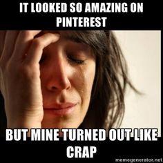 Pinterest Fail!