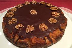 Lehoučký koláč z jablečné mouky