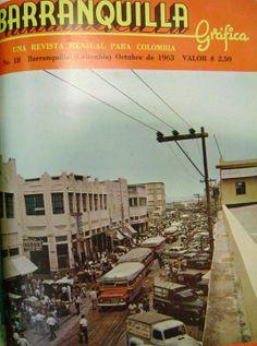 El centro de Barranquilla en 1963. Barranquilla Gráfica. Vía @Archiatlantico #MemoriaCaribe