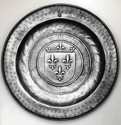 Plate, Royal Arms of France