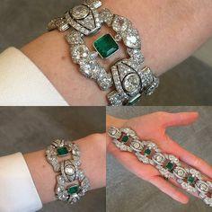 Art Deco Jewelry, High Jewelry, Luxury Jewelry, Women Jewelry, Bracelet Box, Bracelets, Royal Jewelry, Diamond Jewelry, Royal Diamond