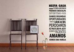 Adesivo Decorativo De Parede Frases Românticas Sala, Quarto - R$ 44,99