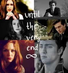 Lily and James together until the very end. Although this isn't quite how I picture James.