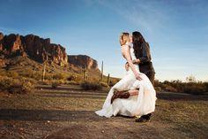 A hot and sexy post-wedding photo shoot! Phoenix Bride and Groom, The R2 Studio #samesex #engagement #Arizona