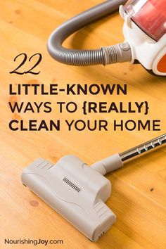 Knowing your home is truly clean is deep-down satisfying, so here are a few of my favorite secret tips to clean those areas that typically get overlooked.
