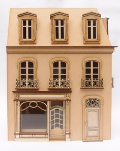1:24 scale miniature dollhouse kit 'Chantilly Store' for collectors von RedCottageMiniatures auf Etsy https://www.etsy.com/de/listing/257667220/124-scale-miniature-dollhouse-kit
