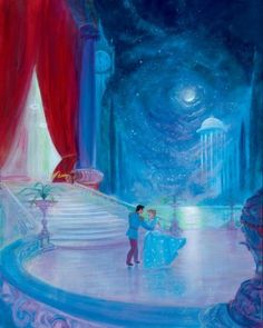 """Disney """"SO THIS IS LOVE"""" Size: 24 x 30 