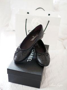 Avec Sofié - blog/ Love my new Chanel ballerina purchase. #Chanel