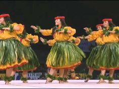 Hawaiian Mele chant & hula - Halau Mohala 'Ilima - Merrie Monarch 2012 (Kahiko)