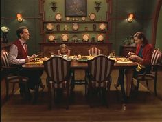 """the dining room of the Little House from the movie """"Stuart Little"""" Stuart Little, Fine Dining, Dining Area, Dining Room, Best Interior Design Apps, French Country Interiors, Practical Magic, Little Houses, Small Houses"""