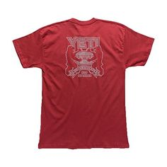 52dffee4c84e Yeti Coolers Mens Coat of Arms Tee XL Red     Be sure to check