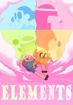 """tateratots: """" """"We'll go to very messed up lands…"""" Adventure Time: Elements airs April on Cartoon Network! Cartoon Network Shows, Cartoon Shows, Cartoon Characters, Adventure Time Characters, Adventure Time Finn, Adventure Time Elemental, Princesse Chewing-gum, Adventure Time Wallpaper, Land Of Ooo"""