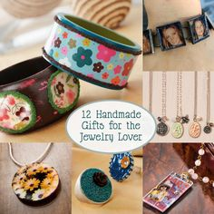 12 DIY gifts for the jewelry lover - you'll love this collection of handmade inspiration!