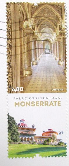 Postage stamp of Portuguese Palaces