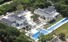 Tiger Woods House in Jupiter Florida - Celebrity House Pictures