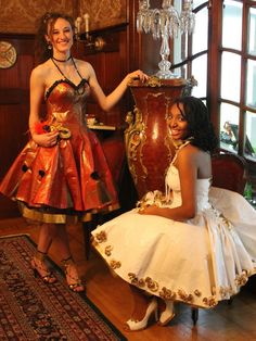 Random duct tape dress, prom dresses и duct tape clothes. Duct Tape Clothes, Duct Tape Dress, Best Prom Dresses, Prom Dresses Blue, Prom Outfits, Dress Prom, Wedding Dress, Duck Tape Crafts, Urban Fashion Trends