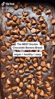 Healthy Dessert Recipes, Vegan Desserts, Healthy Desserts, Vegan Recipes, Vegan Baking, Healthy Baking, Fun Baking Recipes, Cooking Recipes, Plats Healthy