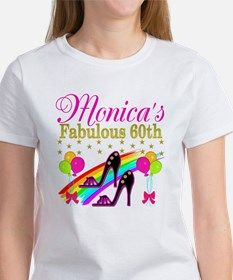 STYLISH 60TH Tee Fun, Chic and Unique 60th birthday T Shirts and gifts for the 60 year old Diva. http://www.cafepress.com/jlporiginals/6515962 #60yearsold #Happy60thbirthday #60thbirthdaygift #60thbirthdayidea #happy60th