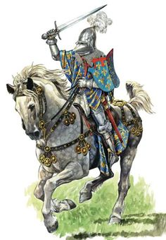 Late medieval era knight.