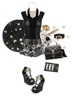 """""""."""" by applecocaine ❤ liked on Polyvore featuring Galliano, Mark Fast, Dorothy Perkins, Forever 21, Ashley Stewart, Bobbi Brown Cosmetics, Versace, Paul & Joe and Pull&Bear"""