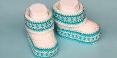 Crochet Baby Booties - Design Peak