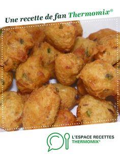 Accras de morue par miss_del_01. Une recette de fan à retrouver dans la catégorie Poissons sur www.espace-recettes.fr, de Thermomix<sup>®</sup>.