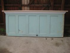 Frisco Shabby Chic Headboards made from old doors eclectic headboards