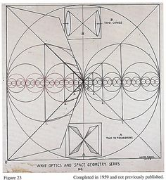 Walter Russell - Wave Optics and Space Geometry Series No. | Two Tetrahedrons / Sacred Geometry ♥