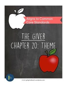 """This ready-made, ready to print, Common Core aligned lesson plan focuses on Chapter 20 of Lois Lowry's novel """"The Giver."""" It goes well-beyond basic comprehension and helps students make connections between themes in this chapter and earlier events in the novel, culminating in a writing activity where students explore what the author is revealing to readers about the importance of memory."""