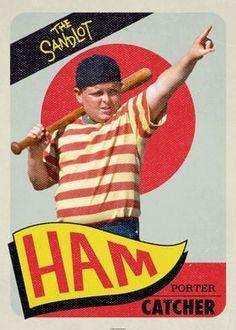 Cool Wall Decor, The Sandlot, Poster Prints, Art Prints, Retro Vintage, Baseball Cards, Sports, Movies, Ducks
