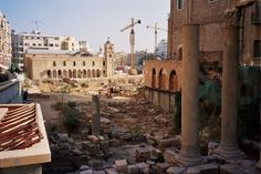 Category:Buildings in Beirut - Wikimedia Commons Roman Baths in central Beirut