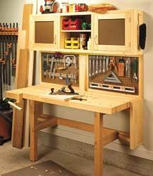 small woodshop ideas