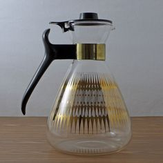 Mid Century Modern Coffee Pot