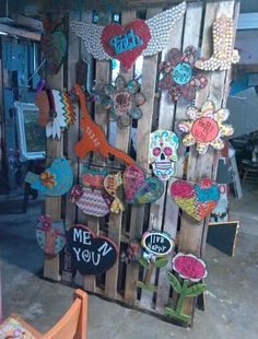 wood work by 2 funky chix