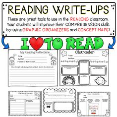 Reading Write-Ups are a great way to help your students develop their reading comprehension skills.  This classroom activity pack will help students learn to identify story elements.  This reading resource will also help your students with any text! #read