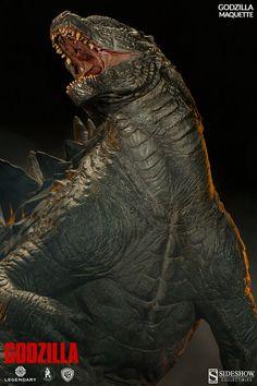 Insane Godzilla Maquette