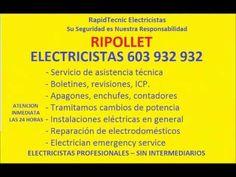 Electricistas RIPOLLET 603 932 932 Baratos