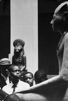 "krystvega:   Encounter with the Ancestors  ""Children at the Metropolitan Museum of Art, New York City, 1961"" Photo by Eve Arnold"