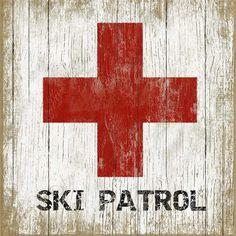 Vinatage Ski Signs