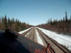 CN Train 533 - Part 2 - Pine Junction to Hay River #NWT- April 2009 #railway  CN Train 533 - Part 1 - Departing Enterprise NWT - April 2009 - CN Train 533 departing Enterprise, North West Territories... Northward... Light Engine (CN 9527) - April 2009 - Good audio of the Hot Box Detector at Mile 350 Meander River Sub and a foreman giving us instructions into his limits... http://youtu.be/b1Zh_r4oAOg    Part Three http://youtu.be/viJF14-lx0g
