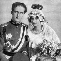 Their Royal Highnesses Crown Prince Leopold and Crown Princess Astrid of Belgium. Married: November 4, 1926