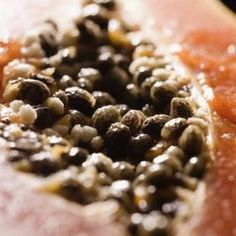 Plant papaya seeds to grow fruiting trees within as little as a year.