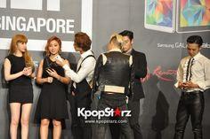 YG Family 2014 GALAXY Tour: POWER In Singapore Press Conference [PHOTOS] : Photos : KpopStarz