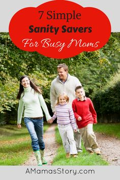 Don't miss our Sanity Check Ideas for Busy Moms! Getting your mind settled and in order can be a sanity saver you need with your busy schedule!
