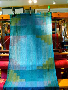 Clasped Weft Project by plainweave, via Flickr